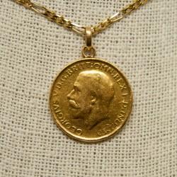 Moneda Jorge V, 1913, 22K