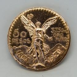 Moneda de 50 pesos...
