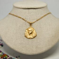 Medalla rostro Virgen...