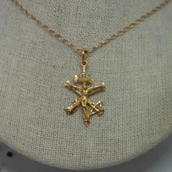 Cruz legionario oro 18k.