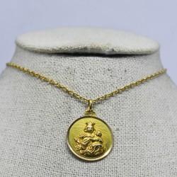 Medalla Virgen del Carmen y...