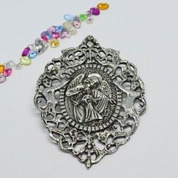 Medalla de plata ángel de...