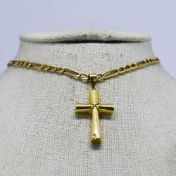 Cadena con colgante de cruz