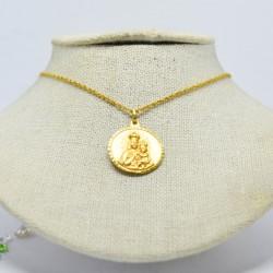 Medalla Virgen y Sagrado...